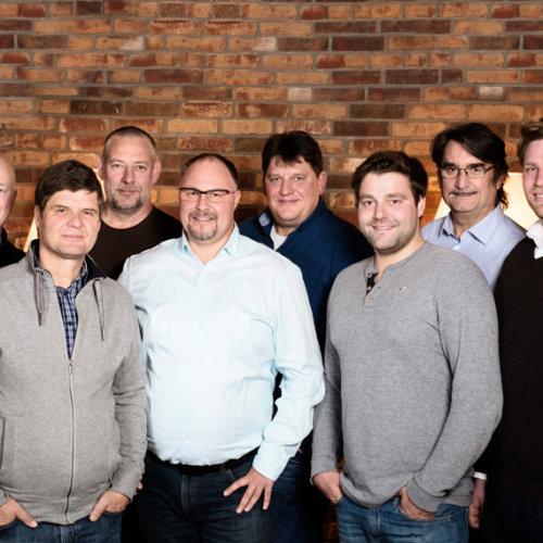 Gruppenfoto des Meisterteam Berlin